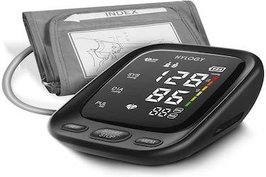 HYLOGY Tensiómetro de Brazo, Monitor de Presión Arterial Digital Automatico con Gran Pantalla LED,...