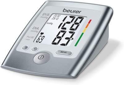 Beurer BM 35 Tensiómetro de brazo, indicador OMS, detección arritmia, gran pantalla LCD, memoria 2...