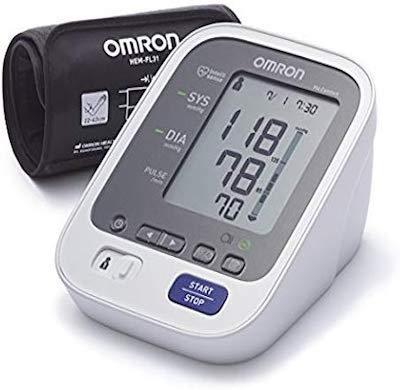 Omron Healthcare M6 Comfort Monitor de presión arterial automático de braz, memoria de hasta 200...